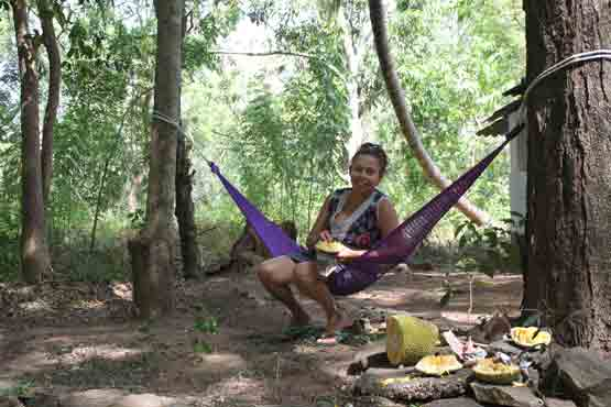 Nidikumba, Bring your Hammock Tree Tent pay what you think its worth to stay at NidiKumba.